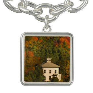 New England hösthus och Cupolaberlockarmband Berlockarmband