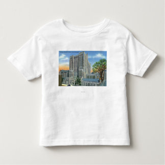 New Haven CTYale U fullödigt minnes- bibliotek Tee Shirt