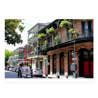 New Orleans gataplats Vykort
