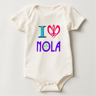 NEW ORLEANS GRAFISKA LOUISIANA BODY FÖR BABY