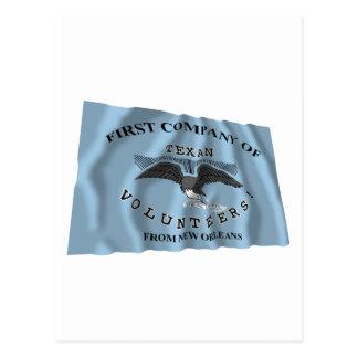 New Orleans Greysflagga Vykort