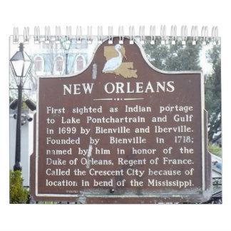 New Orleans kalender
