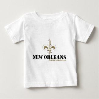 New Orleans Louisiana guld Tee Shirt