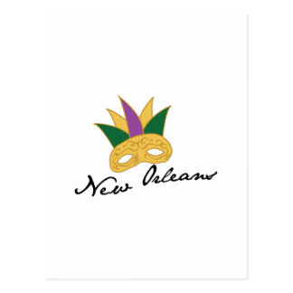 New Orleans maskerar Vykort