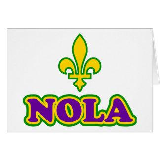 New Orleans NOLA Hälsningskort