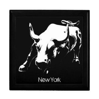 New York boxas den New York tjursouvenir NY Giftbo Minnesask