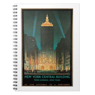 New York centralbyggnad Anteckningsböcker