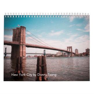 New York City av Donny Tsang Kalender