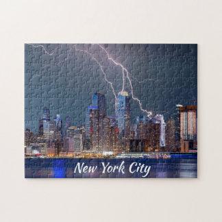 New York City blixtstorm Pussel