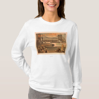 "New York City Brooklyn överbryggar ""Excelsior "", Tee Shirts"