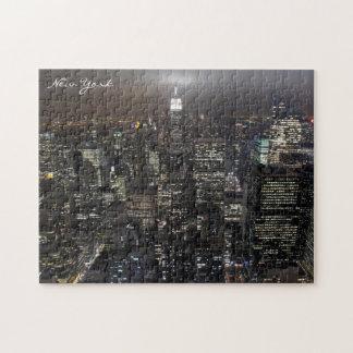 New York City för New York pusselCityscape Pussel