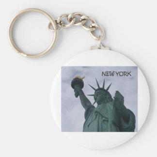 New York City frihetsgudinnan (St.K) Rund Nyckelring
