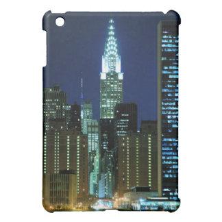 New York City horisont på natten iPad Mini Mobil Skydd