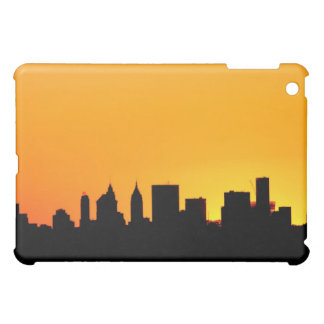 New York City horisont på solnedgången, Manhattan iPad Mini Mobil Fodral