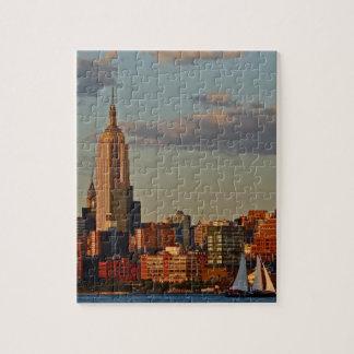 New York City horisont Pussel