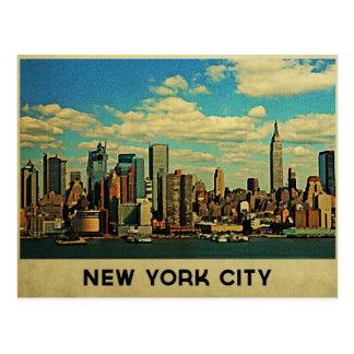 New York City horisont Vykort