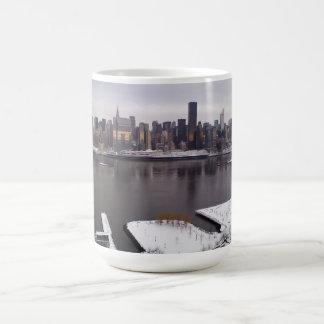 New York City i vinter Kaffemugg