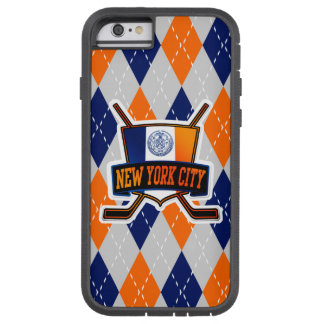 New York City ishockey täcker Tough Xtreme iPhone 6 Fodral