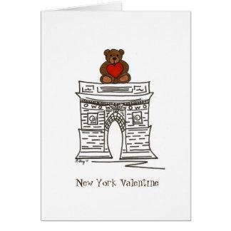 New York City NYC valentin kort för Landmark för