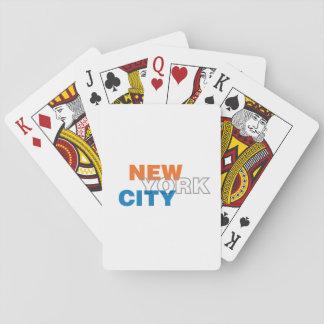 New York City som leker kort Casinokort