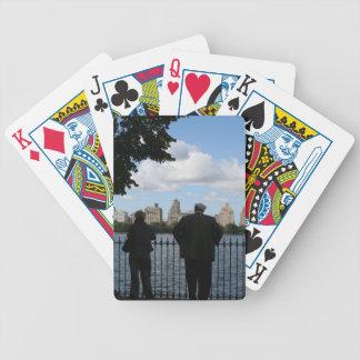 New York City som leker kort Spelkort
