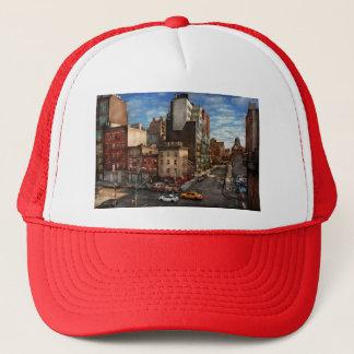 New York City - tränga någon av 10th Ave & W 18th Truckerkeps