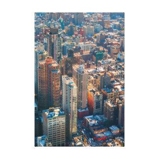 New York cityscape Canvastryck