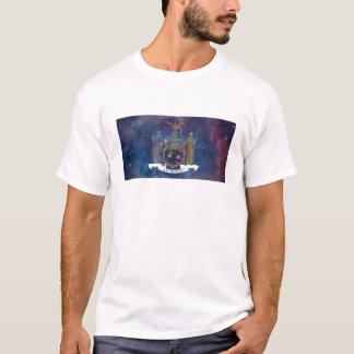 New York flaggaNebula T-shirts