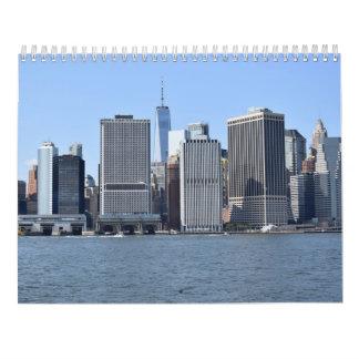 New York för lokalerna, från hamnkalendern Kalender