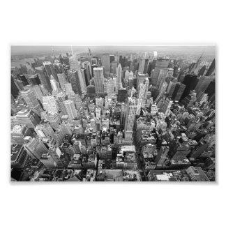 New York från över Konstfoto