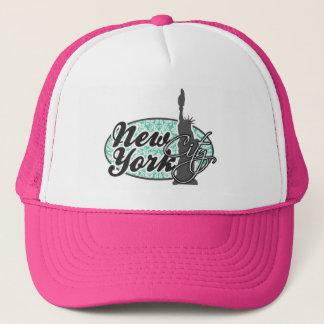 New York frihetsgudinnan, Seafoam grön damast Truckerkeps