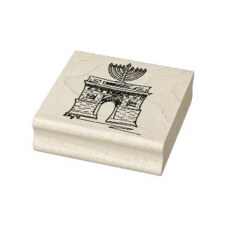 New York Hanukkah NYC Washington kvadrerar menora Stämpel