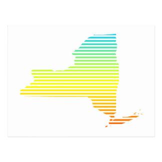 New York kyla bleknar Vykort