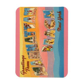New York Manhattan Beach magnet