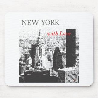 New York med kärlek Musmatta