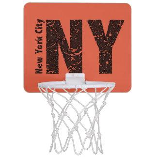 New York mini- basketmål Mini-Basketkorg