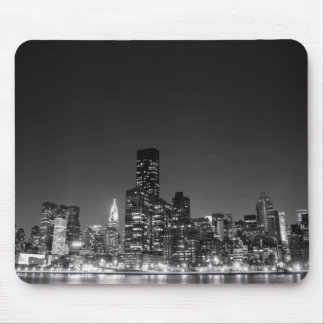 New York natthorisont Musmatta