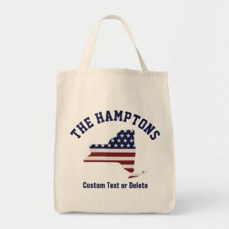 New York | patriotisk USA flagga | din text eller Mat Tygkasse