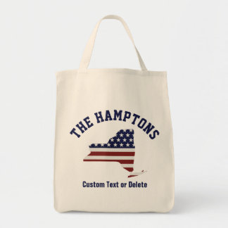 New York | patriotisk USA flagga | din text eller Tygkasse