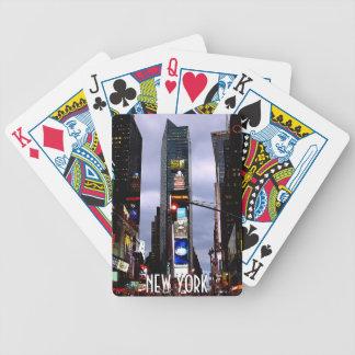 New York som leker för kort souvenirkort coolt NYC Spelkort