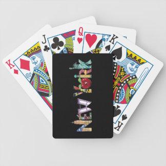 New York som leker kort Spelkort