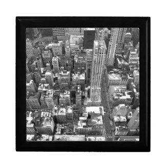 New York souvenirGiftbox kall NYC smyckeskrin