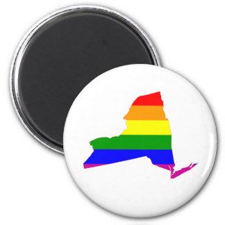 New York statlig gay pride Magnet