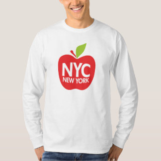 New York stora Apple Tee Shirt