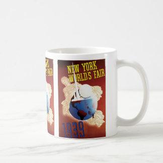 New York världs mässa (jordklotet) Kaffemugg