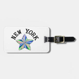 New York världsstjärna Bagagebricka