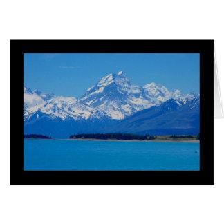 New Zealand berg Hälsningskort