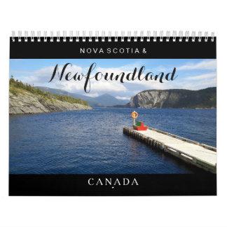 Newfoundland Nova Scotia Kanada kalender