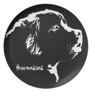 Newfoundland pläterar personligNewfoundland gåvor Tallrik