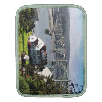 Newport Bayfront, Oregon kustenipad sleeve iPad Sleeve